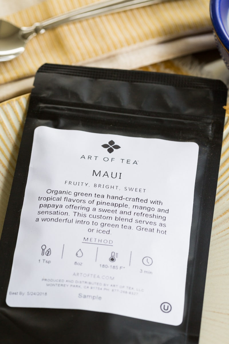 Art of Tea Maui Blend Package
