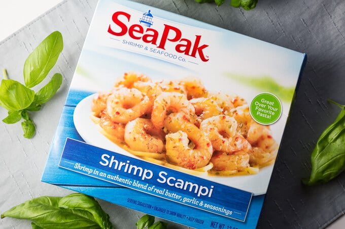 Seapak Shrimp Scampi package