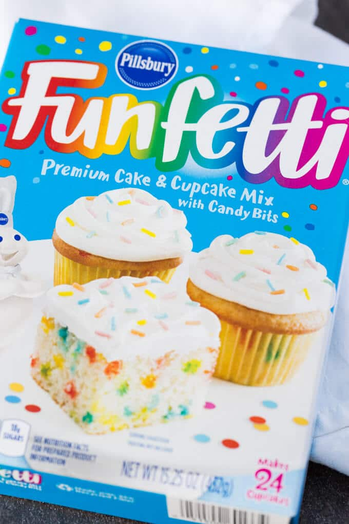 Pillsbury Funfetti Cake and Cupcake Mix