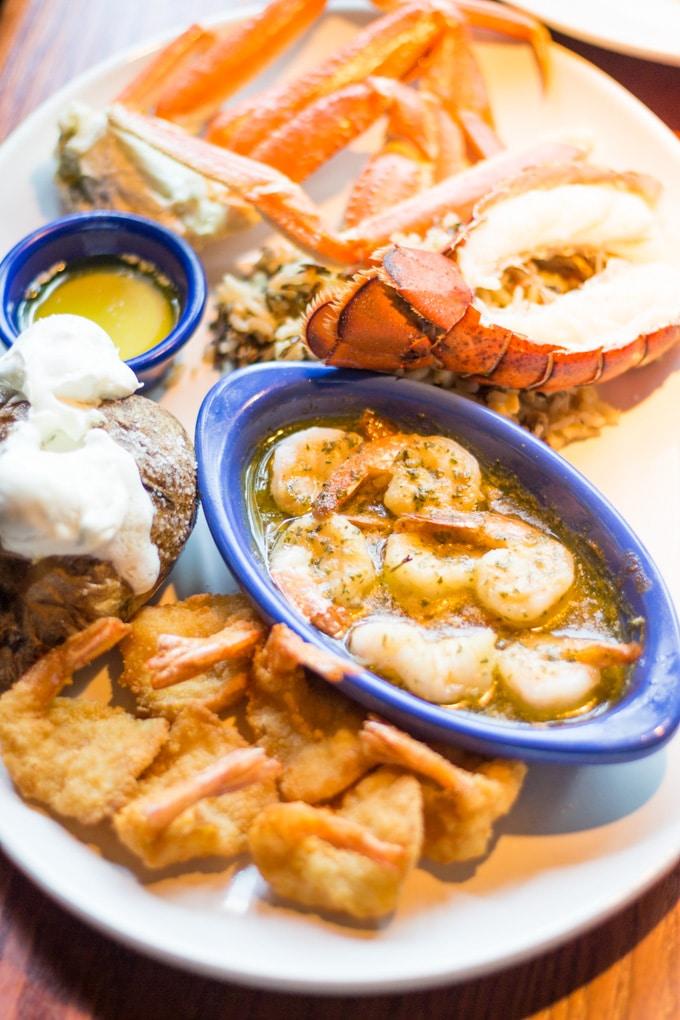 Red Lobster Crabfest Ultimate Feast