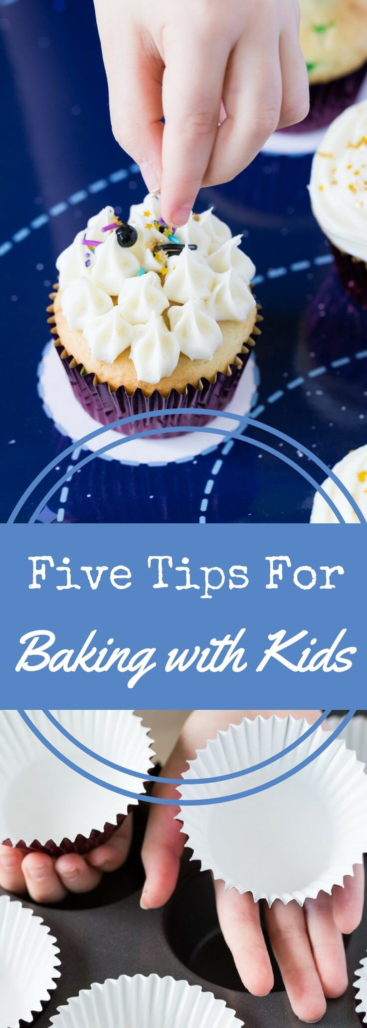 Baking with kids can be a joy—if you know how to make it go smoothly.  Get the five tips every baker should know for baking with children.