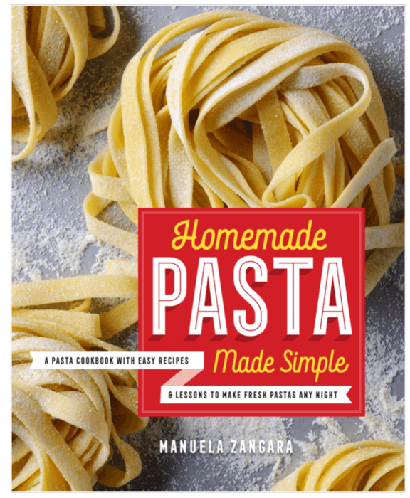 Cover Photo of Homemade Pasta Made Simple cookbook