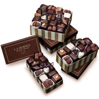LA Burdick Chocolate Boxes