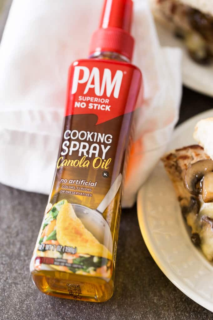 Pam Spray Pump Canola Oil bottle