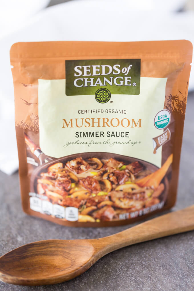 Seeds of Change Mushroom Simmer Sauce