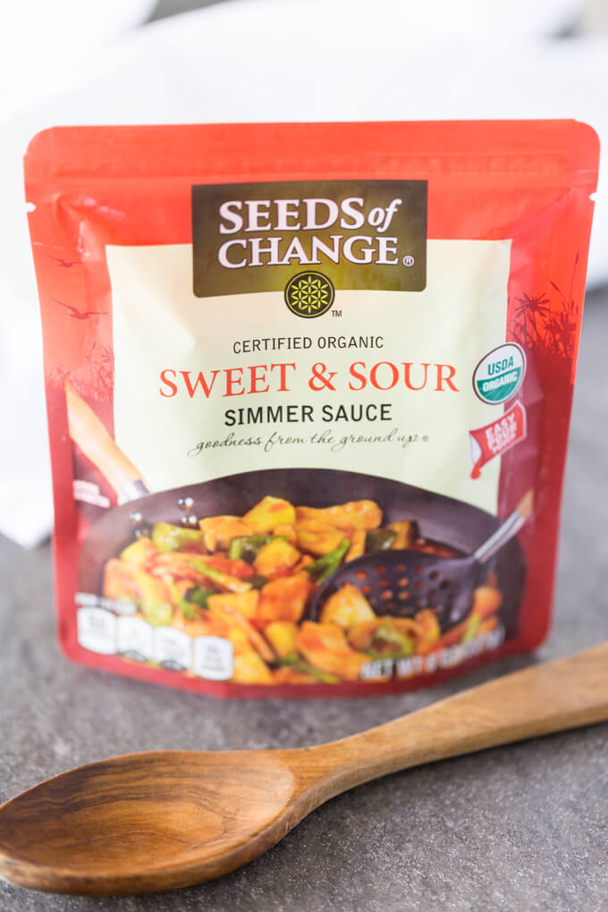 Seeds of Change Sweet and Sour Simmer Sauce