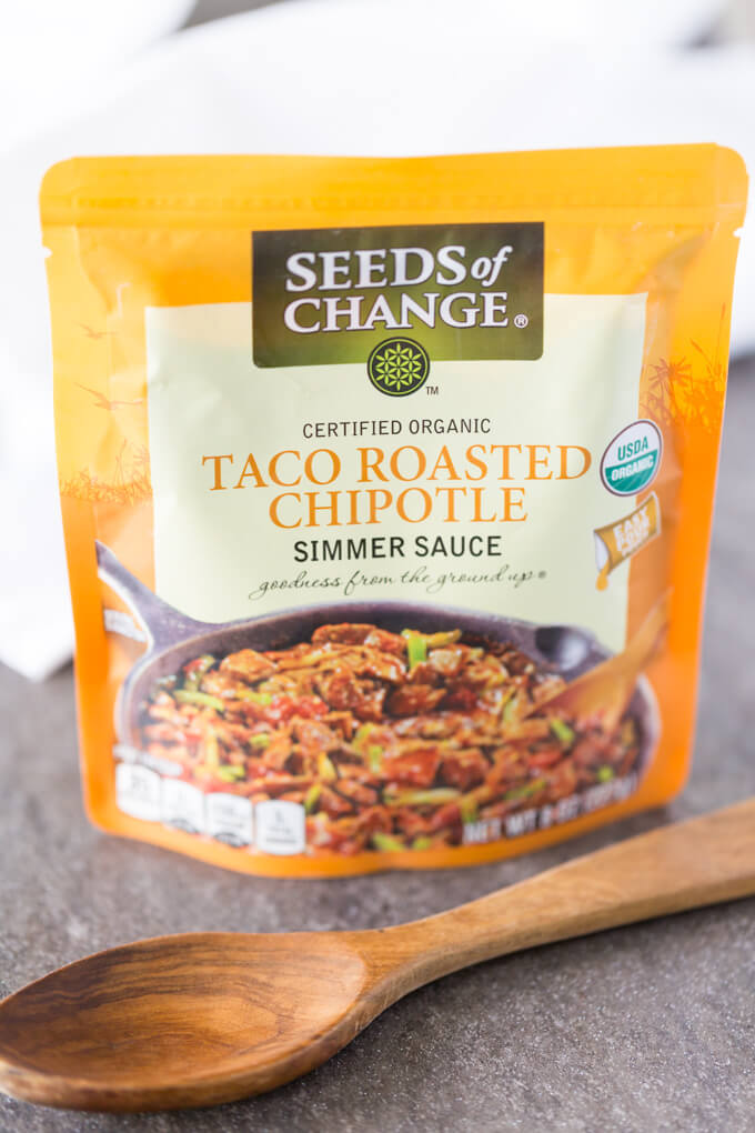 Seeds of Change Taco Chipotle Simmer Sauce