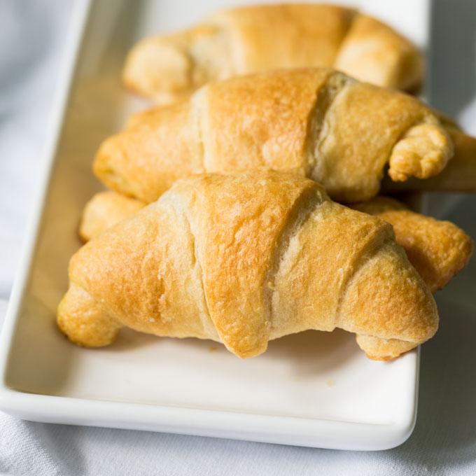 Baked Pillsbury crescent rolls