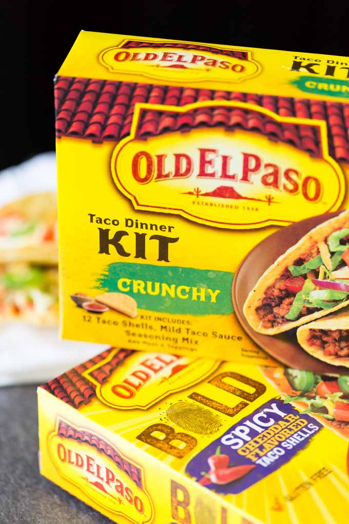 Old El Paso Taco Dinner Kit Crunchy
