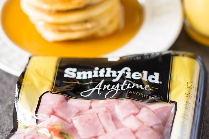 ilver Dollar Hamcakes with Smithfield Cubed Ham