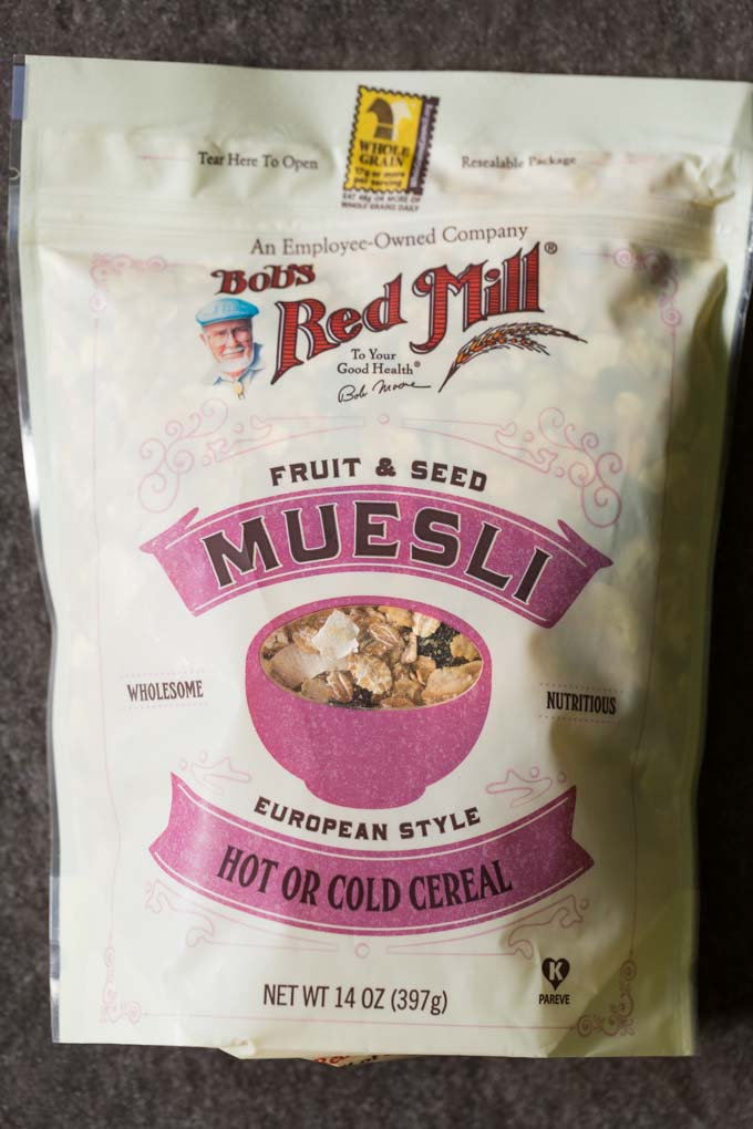 Bob's Red Mill Fruit and Seed Muesli