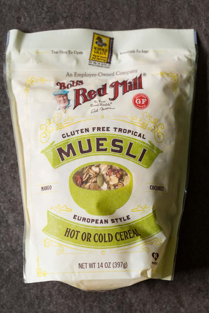 Bob's Red Mill Tropical Gluten Free Muesli