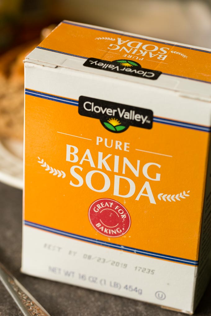 Clover Valley Baking soda ingredient for applesauce cake