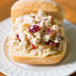 Chicken Salad with Apples Cranberries Pecans Recipe