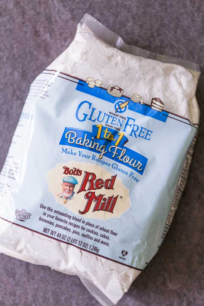 Bob's Red Mill gluten free flour bag