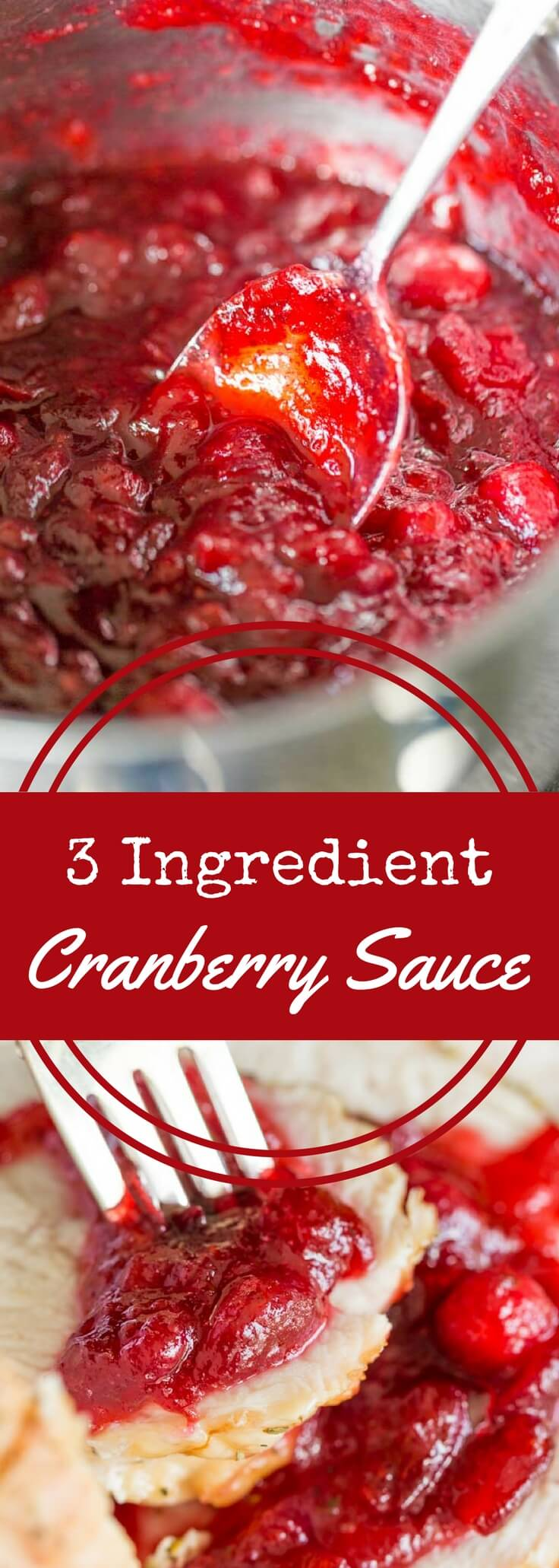 With just 3 ingredients and in less than 30 minutes, you can have homemade cranberry sauce! This Coca-Cola® cranberry sauce is perfect for the holidays.