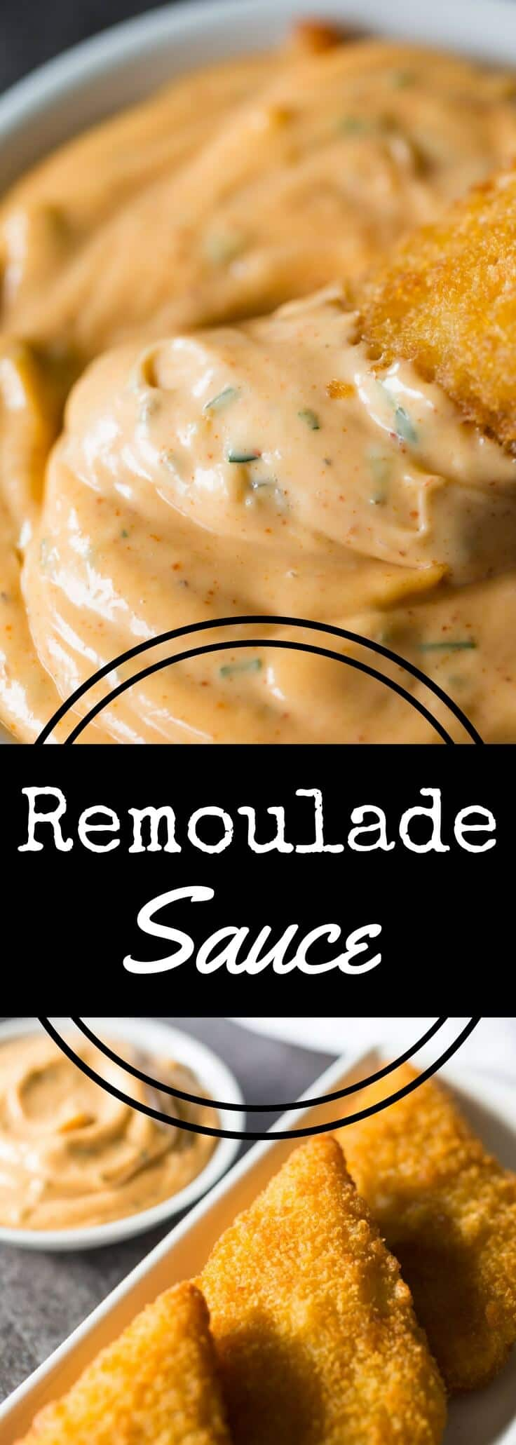 There\'s nothing like a good New Orleans remoulade sauce. This simple, easy remoulade recipe is perfect for serving with shrimp, crab cakes, and fish.