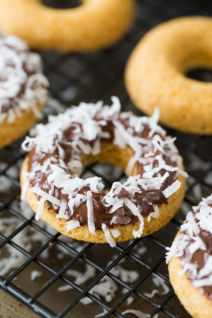 Chocolate Dipped Gluten Free Doughnuts Recipe For