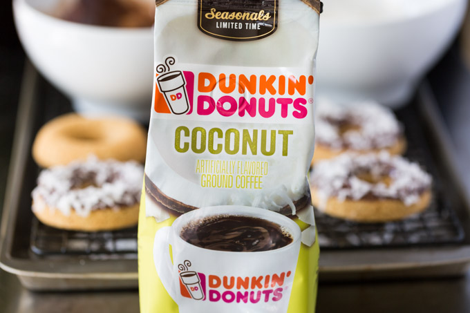 Dunkin Donuts Coconut Coffee bag