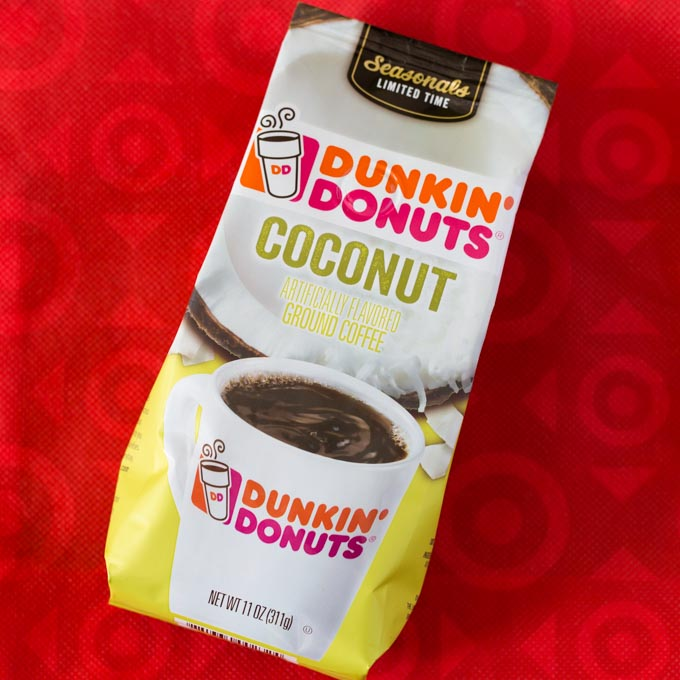 Dunkin Donuts coffee bag from Target