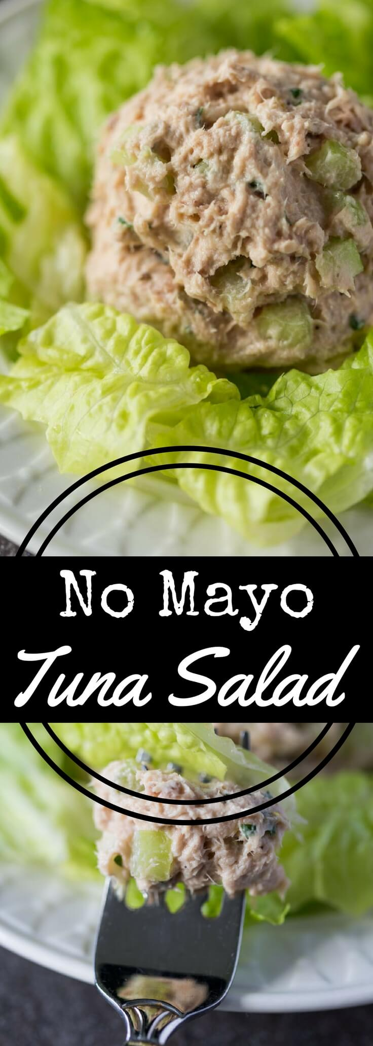 Yes, tuna salad without mayonnaise can be delicious! Try this No Mayo Tuna Salad recipe with fresh parsley, lemon zest, celery, and Greek yogurt. Fresh, light, flavorful, and perfectly suited for topping sandwiches or green salads.