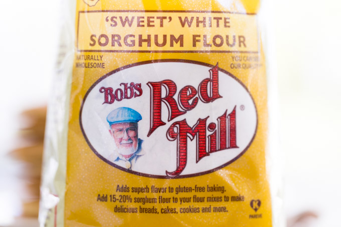 Front of bag of Bob's Red Mill Sorghum Flour