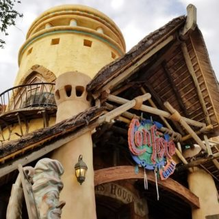 Exterior of Confisco Grille at Islands of Adventure