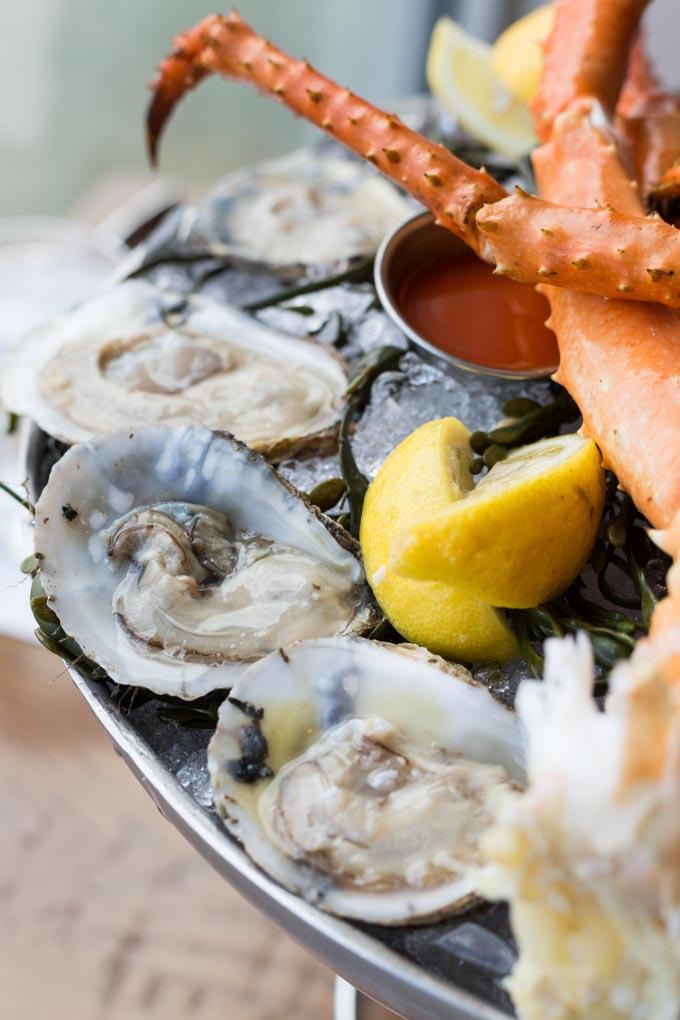 Market fresh oysters gluten free