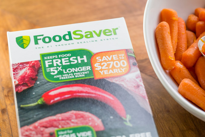 Box of Foodsaver bags