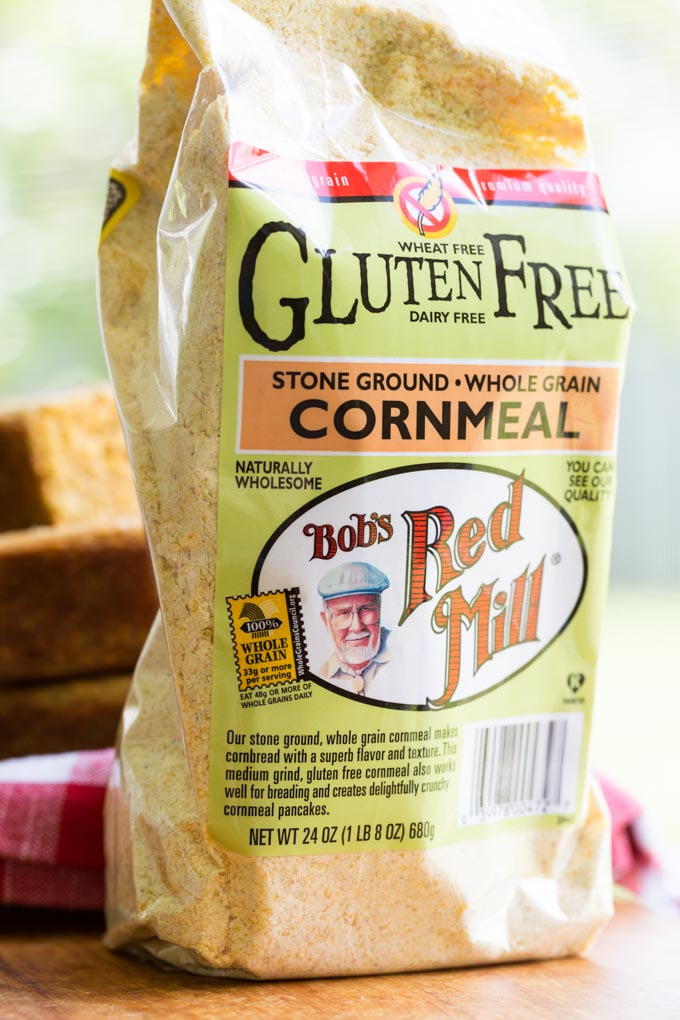 Bag of Bob's Red Mill Gluten Free Cornmeal