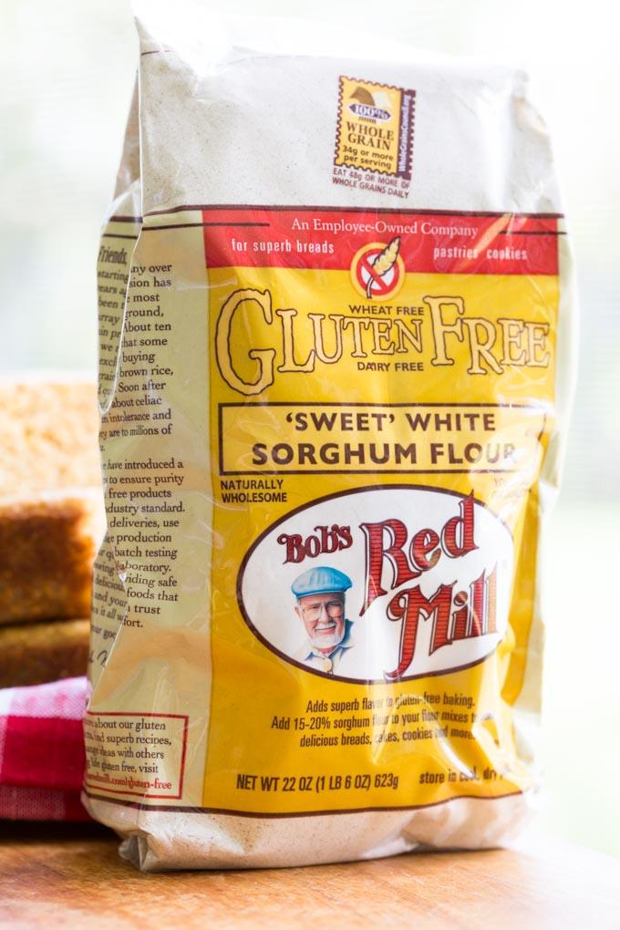Bag of Bob's Red Mill Gluten Free Sorghum Flour