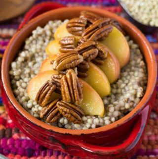 Apple Pecan Buckwheat Groats (Gluten Free)