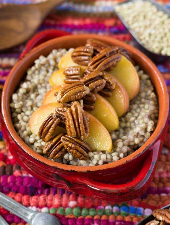 Apple Pecan Buckwheat Groats