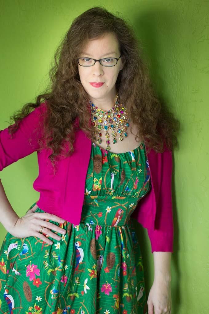 Full length portrait of Katie Moseman