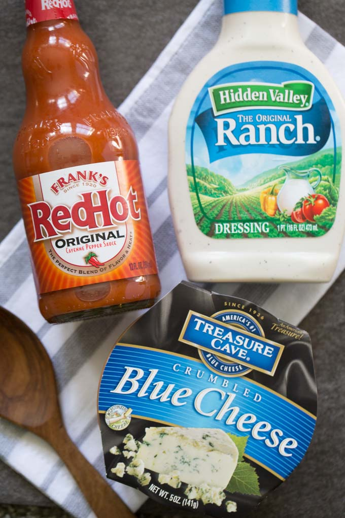 Frank's Red Hot Buffalo Chicken Dip Ingredients