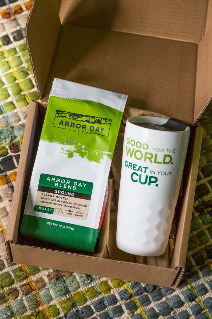 Shade grown coffee subscription box