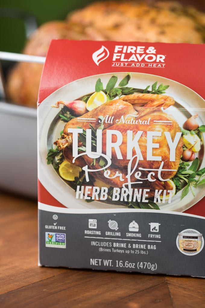 Box of Fire and Flavor Turkey Perfect Herb Brine Kit