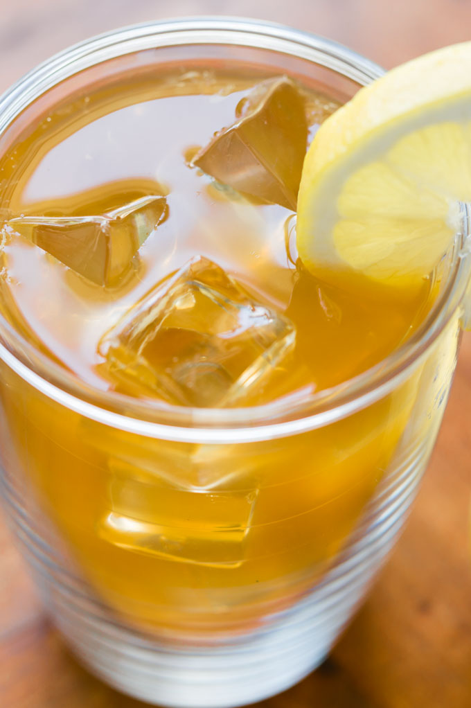 Lemonade Iced Tea (Arnold Palmer) - This lemonade iced tea recipe is the perfect combination of lemonade and freshly brewed iced tea for easy summertime refreshment.