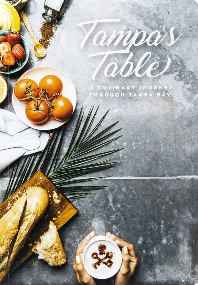 Cover of Tampa's Table cookbook