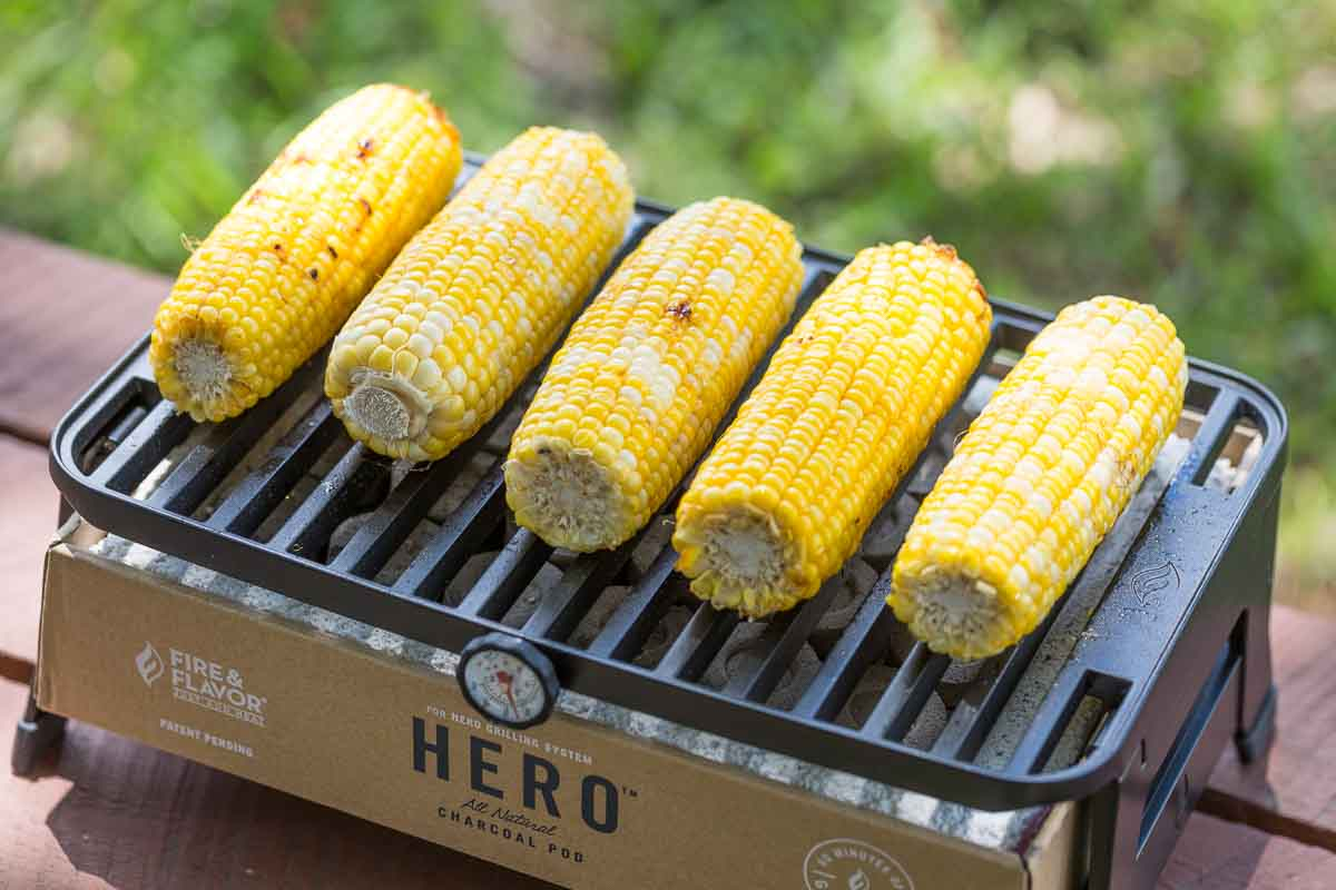 Corn on the HERO Grill System